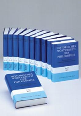 Historisches Wörterbuch der Philosophie Gesamtwerk Bd. 1-13