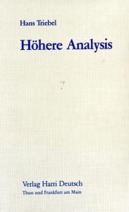 Höhere Analysis