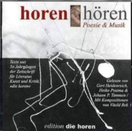 horen hören, Poesie & Musik