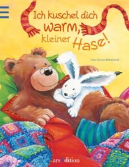 Ich kuschel dich warm, kleiner Hase!