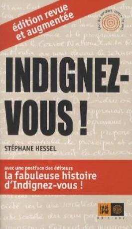 Indignez-vous!. Empört Euch!, französische Ausgabe