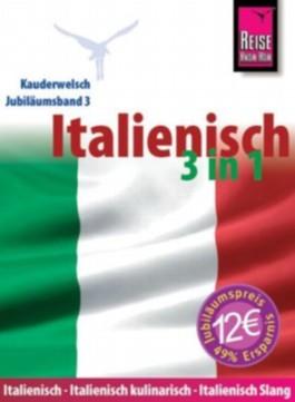Reise Know-How Kauderwelsch Italienisch 3 in 1