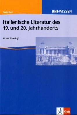 Italienische Literatur des 19. und 20. Jahrhunderts