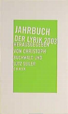 Jahrbuch der Lyrik 2003