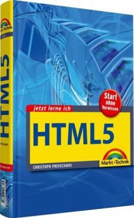 Jetzt lerne ich HTML5