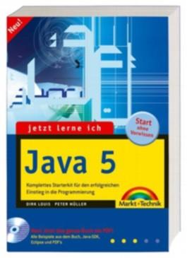Jetzt lerne ich Java 5, m. CD-ROM