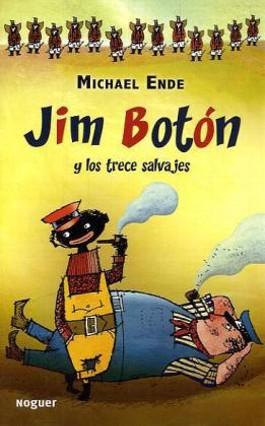Jim Boton y los trece salvajes. Jim Knopf und die Wilde 13, spanische Ausgabe