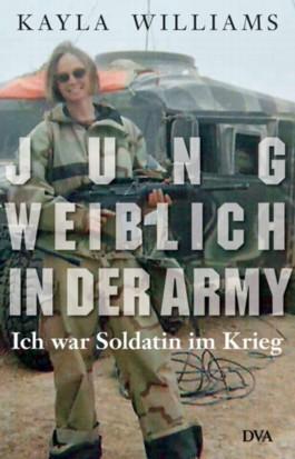 Jung, weiblich, in der Army