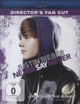 Justin Bieber - Never Say Never, Director's Fan Cut, 1 Blu-ray