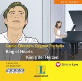 King of Hearts - König der Herzen - Hörbuch (4 Audio-CDs mit Begleitheft)