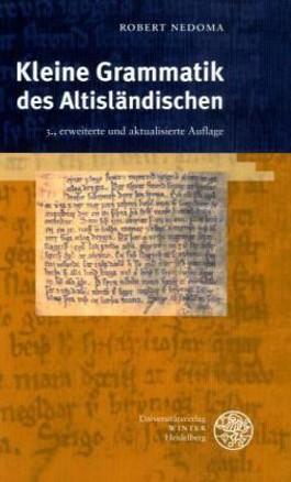 Kleine Grammatik des Altisländischen