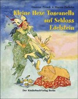 Kleine Hexe Toscanella auf Schloss Edelstein