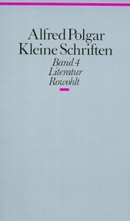 Kleine Schriften. Band 4