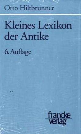 Kleines Lexikon der Antike