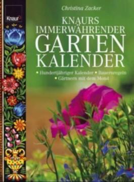 Knaurs immerwährender Gartenkalender