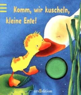 Komm wir kuscheln, kleine Ente, m. Quietschelement