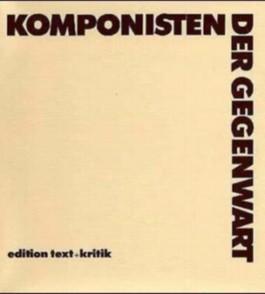 Komponisten der Gegenwart – KDG