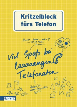 Kritzelblock: Kritzelblock fürs Telefon