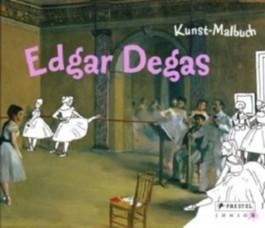 Kunst-Malbuch Edgar Degas
