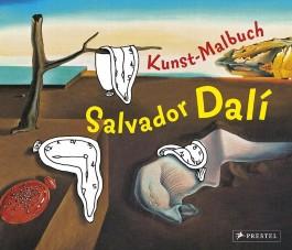 Kunst-Malbuch Salvador Dali
