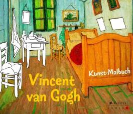 Kunst-Malbuch Vincent van Gogh