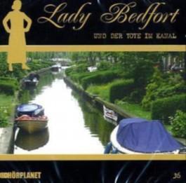 Lady Bedfort - Lady Bedfort und der Tote im Kanal, 1 Audio-CD
