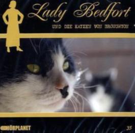 Lady Bedfort - Lady Bedfort und die Katze von Broughton, 1 Audio-CD