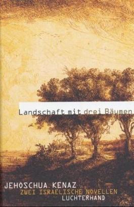 Landschaft mit drei Bäumen