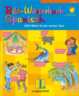 Langenscheidt Bild-Wörterbuch Spanisch