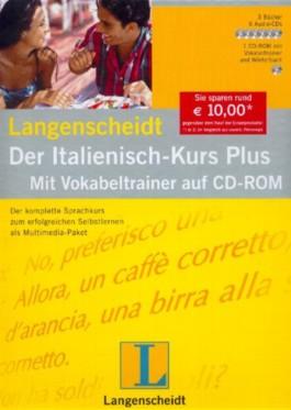 Langenscheidt Der Italienisch-Kurs Plus, 6 Audio-CDs, 3 Bücher u. 1 CD-ROM