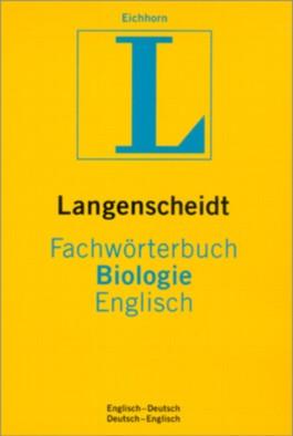 Langenscheidt Fachwörterbuch Biologie Englisch