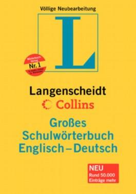 Langenscheidt Grosse Schulwörterbücher