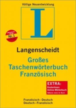 Langenscheidt Großes Taschenwörterbuch Französisch