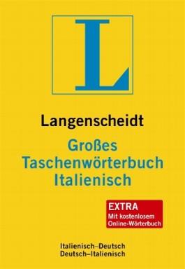 Langenscheidt Großes Taschenwörterbuch Italienisch