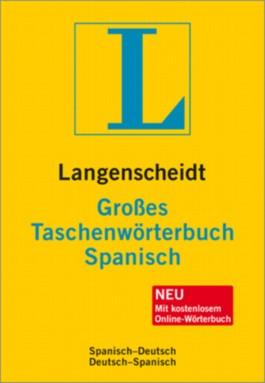 Langenscheidt Großes Taschenwörterbuch Spanisch