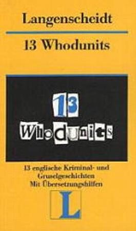 Langenscheidt Lektüre, Bd.13, 13 Whodunits