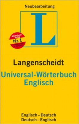 Langenscheidt Universal-Wörterbuch Englisch