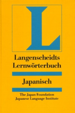 Langenscheidts Lernwörterbuch Japanisch