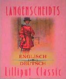 Langenscheidts Lilliput Englisch - Deutsch