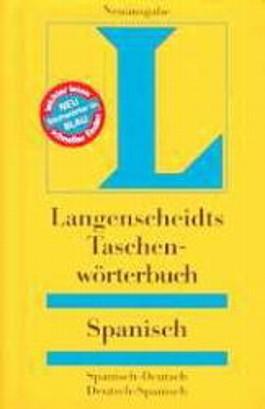 Langenscheidts Taschenwörterbuch, Spanisch (Langenscheidt Taschenwörterbücher)