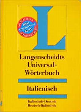 Langenscheidts Universal-Wörterbuch, Italienisch