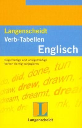 Langenscheidts Verb-Tabellen, Englisch