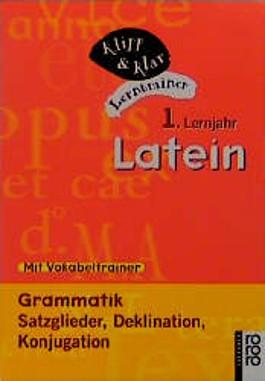 Latein, 1. Lernjahr, Grammatik