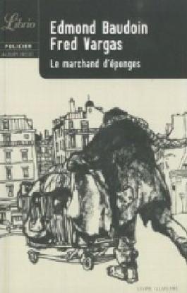 Le marchand d' éponges, Graphic Novel. Die Tote im Pelzmantel, französische Ausgabe