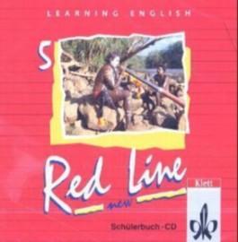 Learning English - Red Line für Realschulen - New / Tl 5 (5. Lehrjahr) / Schülerbuch