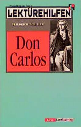 """Lektürehilfen """"Don Carlos"""""""
