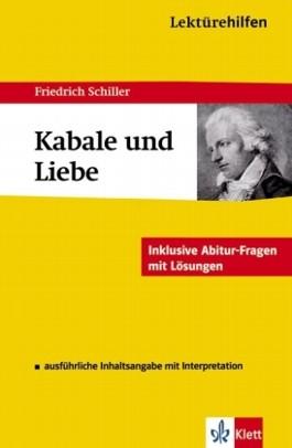 """Lektürehilfen Friedrich Schiller """"Kabale und Liebe"""""""