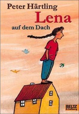 Lena auf dem Dach