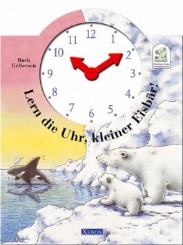 Lern die Uhr, kleiner Eisbär