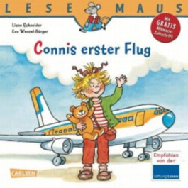 LESEMAUS, Band 91: Connis erster Flug